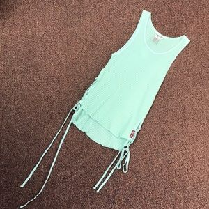 Mint green hardtail top size XS NWOT